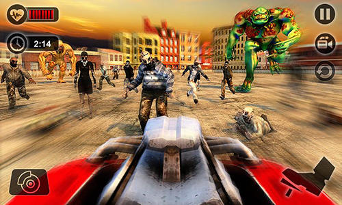 Гра Zombie car smash derby на Android - повна версія.