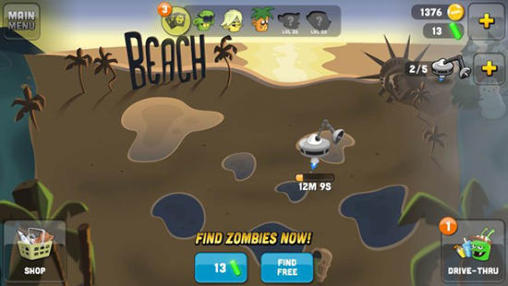 Геймплей Zombie catchers для Android телефону.