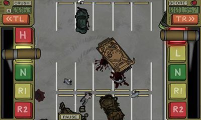 Screenshots of the Zombie Crush for Android tablet, phone.