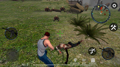 Screenshots von Zombie crushers 2: Survival instinct für Android-Tablet, Smartphone.