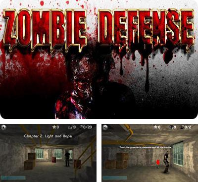 In addition to the game The Dead: Chapter One for Android phones and tablets, you can also download Zombie Defense for free.