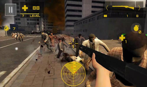 Zombie exterminator: 3D shooter screenshot 2