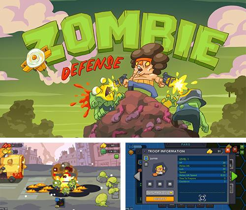 Zombie defense by DIVMOB