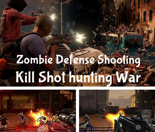 Zombie defense shooting