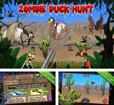 In addition to the game Nutty Fluffies Rollercoaster for Android phones and tablets, you can also download Zombie Duck Hunt for free.