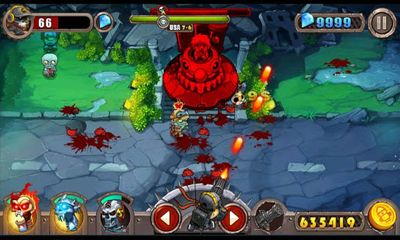 Screenshots von Zombie Evil für Android-Tablet, Smartphone.