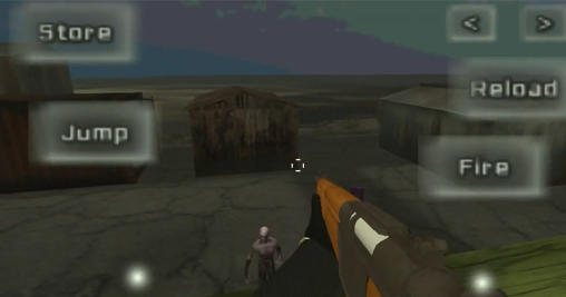 Zombie exterminator: 3D shooter screenshot 1