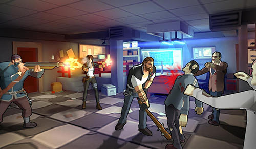 Screenshots von Zombie faction: Battle games für Android-Tablet, Smartphone.