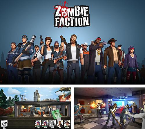 Кроме игры The walking dead: March to war скачайте бесплатно Zombie faction: Battle games для Android телефона или планшета.