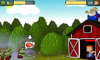 Screenshots von Zombie Farm für Android-Tablet, Smartphone.