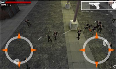 Screenshots von Zombie Field HD für Android-Tablet, Smartphone.