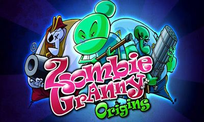 Zombie Granny puzzle game poster