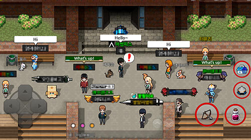 Zombie high school screenshot 3