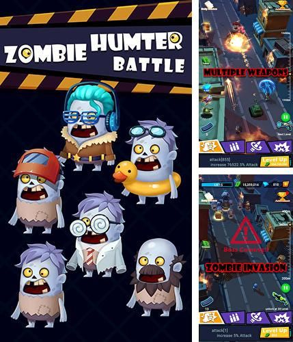 Zombie hunter battle: Survival gun shooter arena
