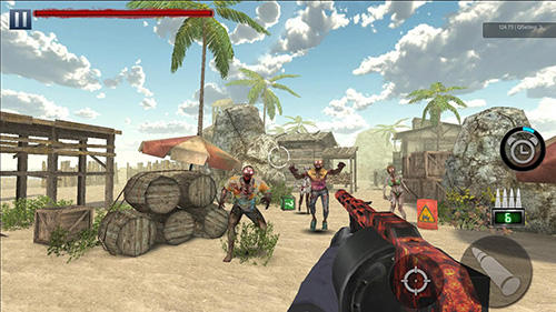 Zombie hunter: Battleground rules screenshot 1