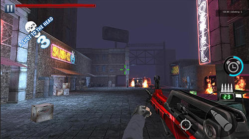 Screenshots von Zombie hunter: Battleground rules für Android-Tablet, Smartphone.