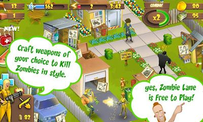 Download Zombie Lane Android free game.