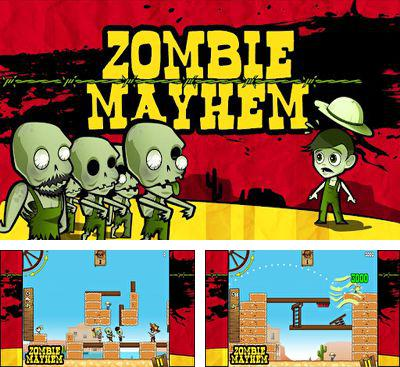 In addition to the game 3D Flick Field Goal for Android phones and tablets, you can also download Zombie Mayhem for free.