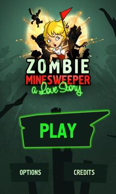 Zombie Minesweeper poster