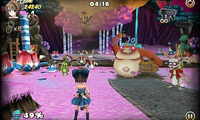 Download Zombie Panic in Wonderland Android free game.