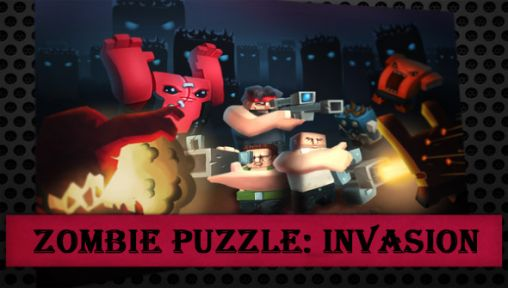 Zombie puzzle: Invasion poster