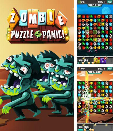 In addition to the game Big air war for Android phones and tablets, you can also download Zombie puzzle panic for free.