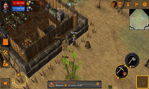 Zombie raiders beta screenshot 1