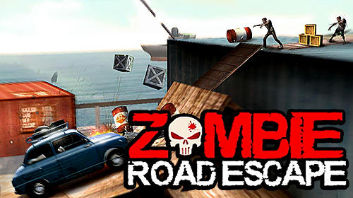 Zombie road escape: Smash all the zombies on road poster