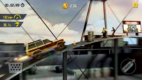 Download Zombie road escape: Smash all the zombies on road Android free game.