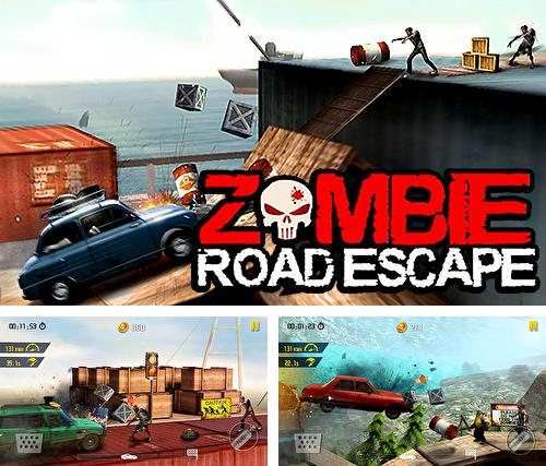 Zombie road escape: Smash all the zombies on road