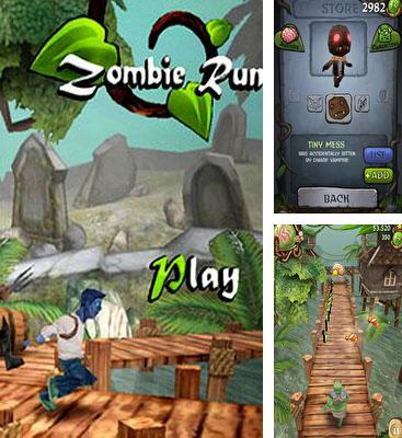 In addition to the game A Monster Ate My Homework for Android phones and tablets, you can also download Zombie Run HD for free.