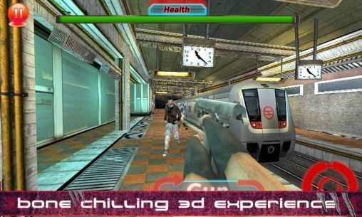 Zombie shooter 3D screenshot 1