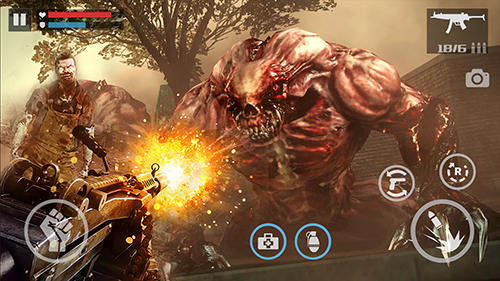 Jogue Zombie shooter: Dead warfare para Android. Jogo Zombie shooter: Dead warfare para download gratuito.