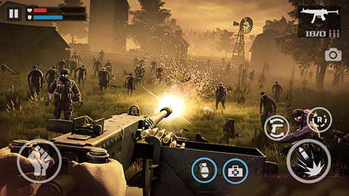 Screenshots von Zombie shooter: Dead warfare für Android-Tablet, Smartphone.