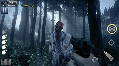 玩安卓版Zombie shooter: Fury of war。免费下载游戏。