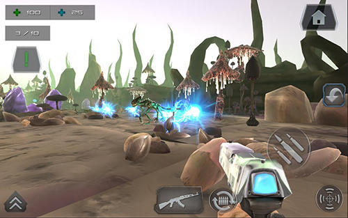 Screenshots von Zombie shooter world war star battle gun 3D FPS für Android-Tablet, Smartphone.