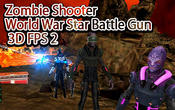 Zombie shooter world war star battle gun 3D FPS 2 APK