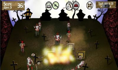 Screenshots von Zombie Smasher! für Android-Tablet, Smartphone.