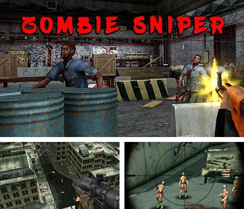 Zombie sniper 3D shooting game: The killer