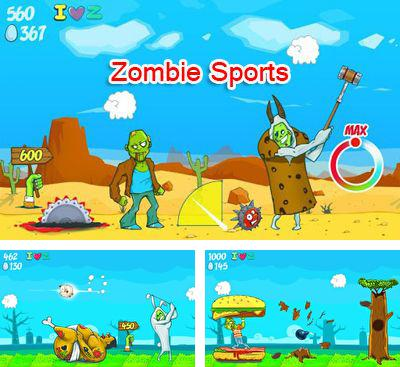 In addition to the game Spider Rider for Android phones and tablets, you can also download Zombie Sports for free.