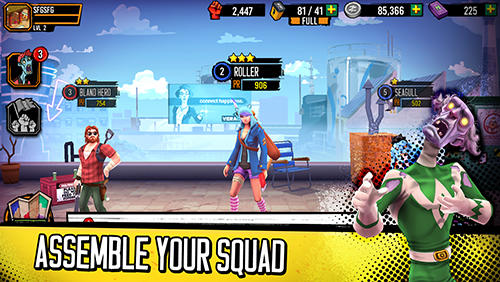 Zombie squad: A strategy RPG for Android - Download APK free
