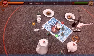 Screenshots of the Zombie Toy Attack for Android tablet, phone.