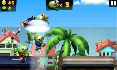 Screenshots do Zombie Tsunami - Perigoso para tablet e celular Android.