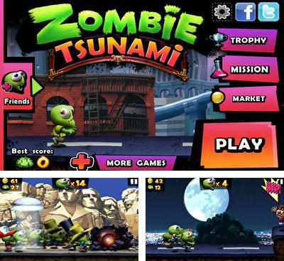 In addition to the game Hill Climb Racing for Android phones and tablets, you can also download Zombie Tsunami for free.