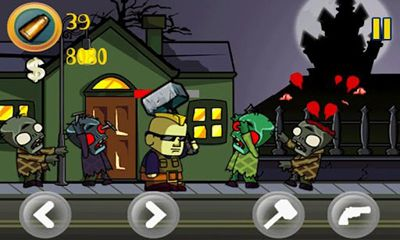 Screenshots von Zombie forest für Android-Tablet, Smartphone.