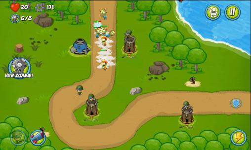 Zombie wars: Invasion screenshot 1