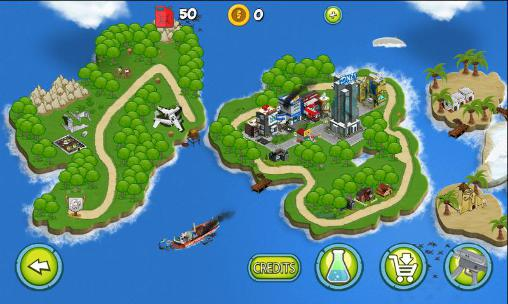 Zombie wars: Invasion screenshot 3