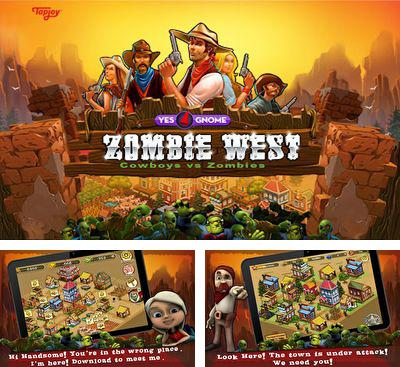 In addition to the game Stop The Robots for Android phones and tablets, you can also download Zombie West for free.