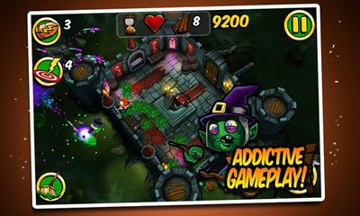 Screenshots of the Zombie Wonderland 2 for Android tablet, phone.