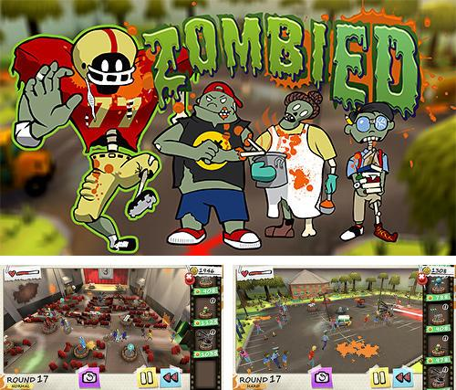In addition to the game Kingdom defense 2: Empire warriors for Android phones and tablets, you can also download Zombied for free.